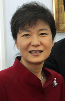 Geun Hye Park, the Personal Envoy of the President of South Korea.