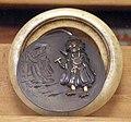Giappone, periodo edo, netsuke (fermaglio per inroo), xix secolo, 078 demone e donna.jpg