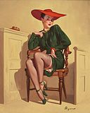 Gil Elvgren - The Verdict Was, Wow! - 1947.jpg
