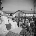 Gila River Relocation Center, Rivers, Arizona. A large crowd was in attendance at the Harvest Festi . . . - NARA - 538654.tif
