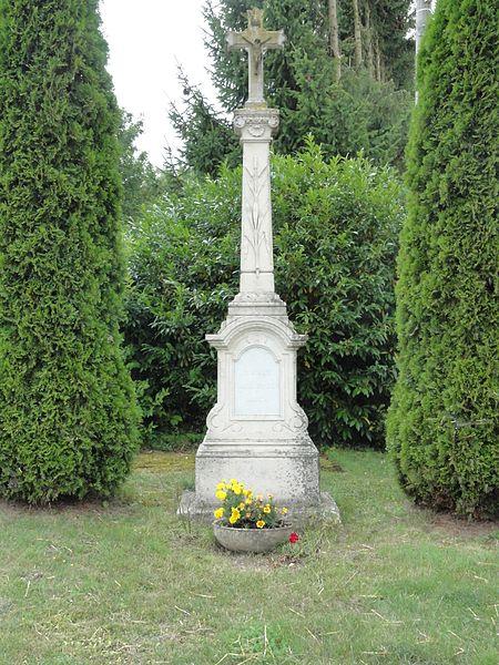 Gimécourt (Meuse) croix de chemin