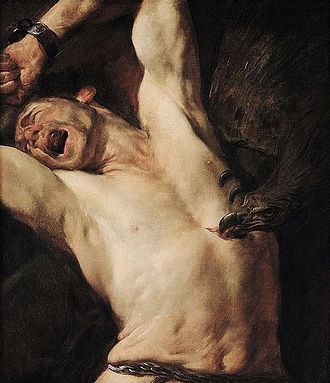 Gioacchino Assereto - The Torture of Prometheus