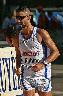 Giorgio Rubino Italian race walker