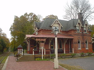 Glen Mills, Pennsylvania - Image: Glen Mills PA Station