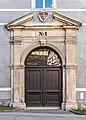 Gmuend Hauptplatz 1 Schloss Lodron Nord-Trakt Nordportal 06042017 7264.jpg