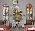 Gołdap Kościół NMP Matki Kościoła prezbiterium 018.jpg