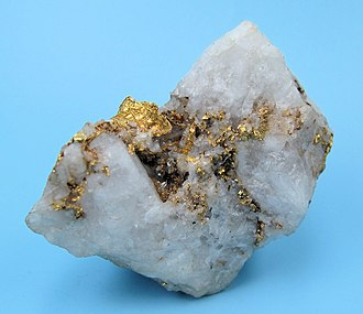 Benguet - A gold ore from Mankayan copper mines