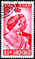 Gold Coast Stamp 1948, George VI and Elizabeth.jpg