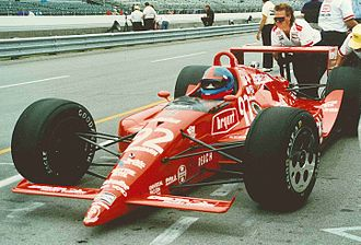 1991 Indianapolis 500 - Gordon Johncock during practice.