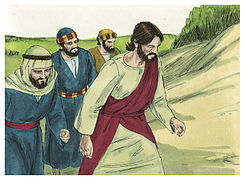 Gospel of Matthew Chapter 17-1 (Bible Illustrations by Sweet Media).jpg