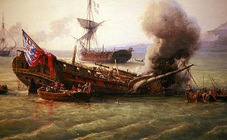 HMS Sirius (1797) - Scuttling of Sirius