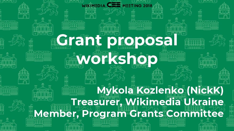 File Grant Proposal Workshop Cee 2018 Pdf Meta