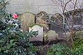 Gravestones on the southern side of Postman's Park.jpg