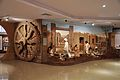 Great Konark Wheel and Indus Valley Civilization - Science and Technology Heritage of India Gallery - Science Exploration Hall - Science City - Kolkata 2016-02-22 0512.JPG