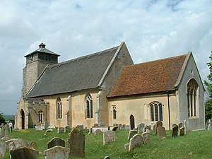 Great Livermere - Image: Great Livermere Church of St Peter