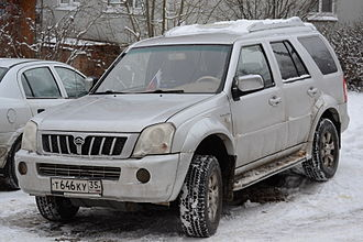 Great Wall Motors - Great Wall Pegasus in Russia