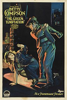 <i>The Green Temptation</i> 1922 film by William Desmond Taylor