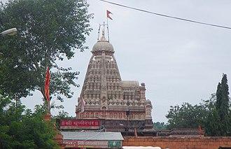 Grishneshwar - Grishneshwar Shiva temple is next to the Ellora Caves.
