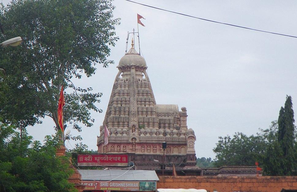 Grishneshwar Shiva temple Maharashtra