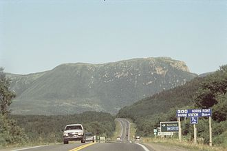 Newfoundland and Labrador Route 430 - Route 430 in Gros Morne National Park
