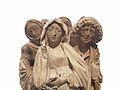 Groupe de la Vierge et de saint Jean au pied de la croix-Musée de l'Œuvre Notre-Dame (4).jpg