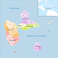 Guadeloupe Gemeindeverbände 2018.png
