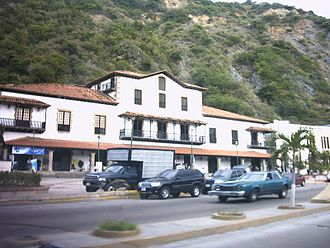 Guipuzcoan Company of Caracas - The old buildings of the Guipuzcoan Company of Caracas in La Guaira