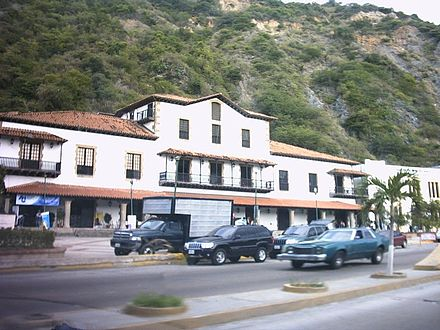 The old buildings of the Guipuzcoan Company of Caracas in La Guaira Guipuzcoana house.jpg