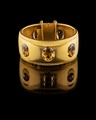 Guldarmband med topaser från juveleraren C. Prost i Vevey, 1866 - Hallwylska museet - 109586.tif