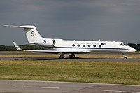 Gulfstream V Greece - Air Force 678, LUX Luxembourg (Findel), Luxembourg PP1307121348.jpg