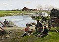 Gunnar Berndtson - A Rest on the Way to the Fair - A I 220 - Finnish National Gallery.jpg