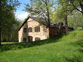 Gustaf de Laval - de Laval's forge in Kloster