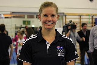 Janine Murray Female Australian artistic gymnast