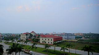 Hà Tĩnh City in Vietnam