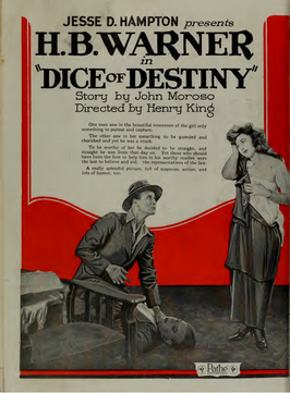Advertentie voor Dice of Destiny