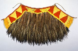 James Cook Collection: Australian Museum - H000104- Feather Cape
