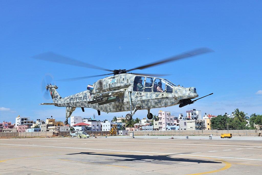 HAL LCH sortie undertaken by ACM RKS Bhaduria.jpg