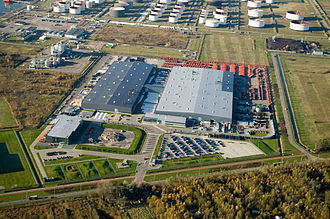 Hitachi Construction Machinery (Europe) - HCME facilities in Amsterdam