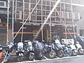 HK 上環 Sheung Wan 蘇杭街 Jervois Street bar n motorbike carpark August 2018 SSG.jpg
