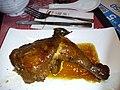 HK 牛頭角 Ngau Tau Kok 觀塘花園大廈 Kwun Tong Garden Estate shop 一粥麵 Super Super Restaurant food Master stock Loushui Lomei chicken leg October 2018 SSG 02.jpg