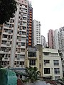 HK Central 些利街 Shelley Street 回教清真禮拜總堂 Jamia Mosque view low-rises building Mar-2016 DSC 002.JPG