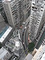 HK Mid-levels 21 Robinson Road Good View Court roof view 利德大廈 Right Mansion March-2011.JPG
