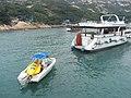 HK Po Toi Island 09 Tai Wan banana boat Oct-2012.JPG