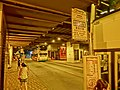 HK Queensway 金鐘地鐵站(東)巴士總站 Admiralty MTR Station (East) Bus Terminus Oct-2013 CityBus 37B 37X stop signs night.JPG