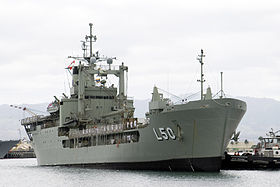 HMAS Tobruk in Hawaii (2008)