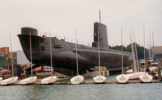 Amphion-class submarine - Image: HMS Alliance S67