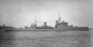 HMS <i>Gloucester</i> (62) Gloucester-class cruiser