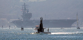 Air-independent propulsion - HSwMS Gotland in San Diego