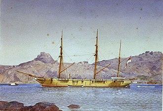 Racer-class sloop - Image: HMS Icarus (1858)
