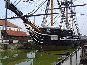 Hartlepool's Maritime Experience - HMS Trincomalee.